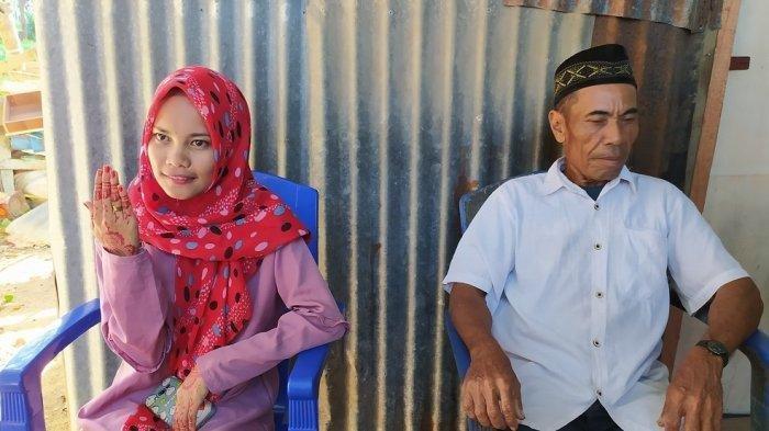 Perawan Cantik Dinikahi Kakek Duda Beda 39 Tahun, Ikhlas karena Cinta