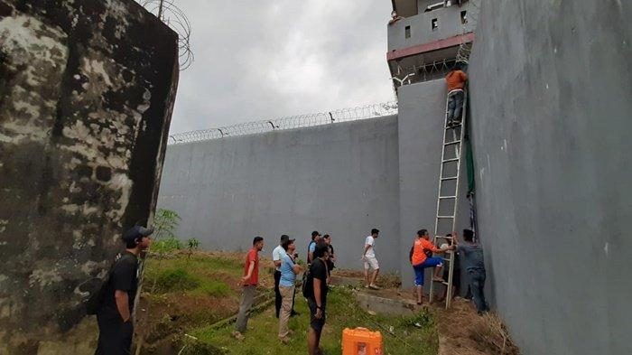 Kalapas Tanjungpandan Jelaskan Kronologis Penangkapan Dua WBP yang Kabur