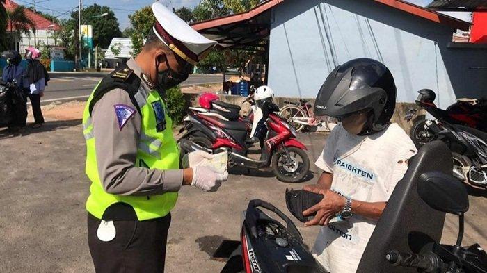 Hasil Operasi Patuh Menumbing di Beltim, Banyak Pengendara Tak Bawa SIM