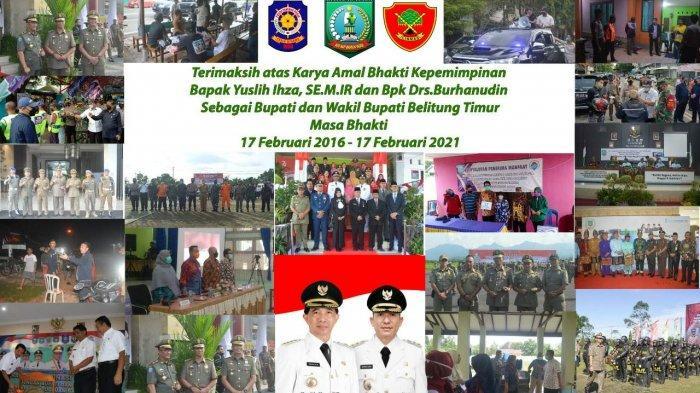 Satpol PP Beltim Berterima Kasih Atas Dukungan Yuslih Ihza dan Burhanudin