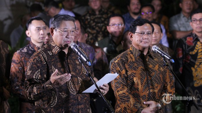 SBY Jadi Mentor Prabowo-Sandi Hadapi Debat Pilpres 2019