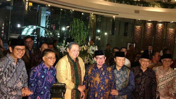 SBY Ketemu Presiden PKS Dtemani Ibas, AHY Ngak Ikut