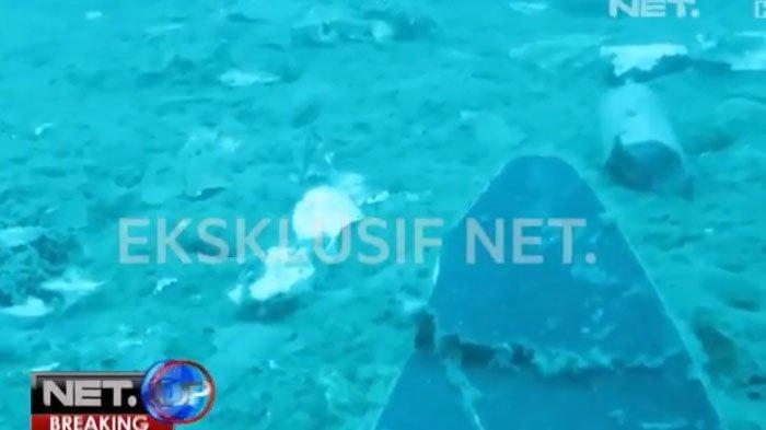Badan Pesawat Lion Air Ditemukan Terbelah-belah di Kedalaman 32,5 Meter