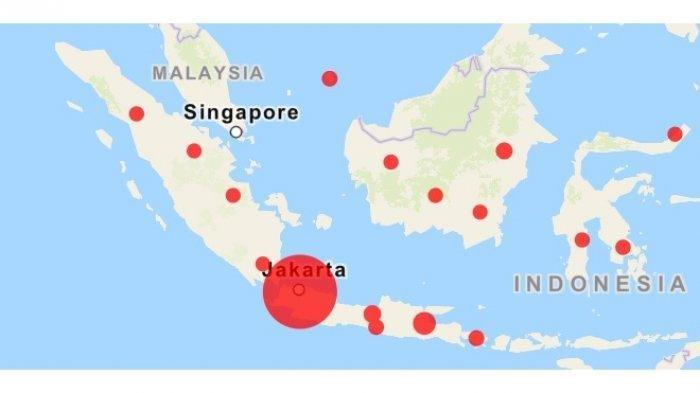 Kasus Virus Corona Meluas di 22 Provinsi di Indonesia, Maluku Utara dan Jambi Kasus Baru