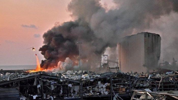 30-40 Kantong Kembang Api Diduga Penyebab Ledakan di Beirut, Disimpan Segudang sama Amonium Nitrat