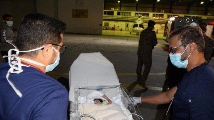 Bayi Kembar Asal Yaman Tiba di Arab Saudi Untuk Operasi Pemisahan