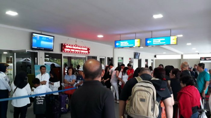Penumpang Membludak di Bandara H AS Hanandjoeddin Tanjungpandan Diprediksi H-7 Idulfitri