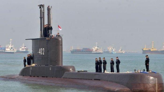 Badan Kapal Selam KRI Nanggala-402 Diduga Jatuh ke Kawah Dasar Laut Penuh Lumpur