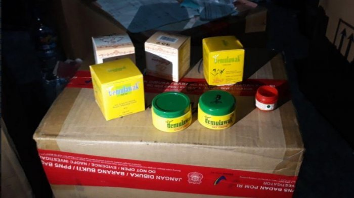 100 Ribu Produk Kosmetik yang Diamankan BPOM Bernilai Rp 7,6 M