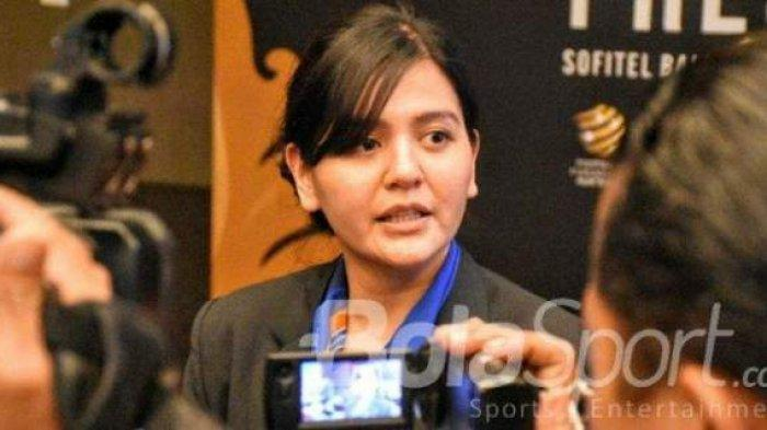 Sekjen PSSI Ratu Tisha Mau Tak Mau Penuhi Panggilan Satgas Antimafia Bola