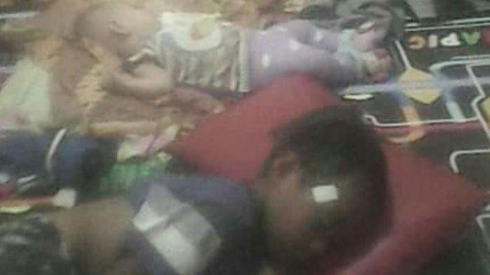 Mirisnya! Ibu Bersama 8 Anaknya yang Masih Balita dan Satu Bayi Menginap di Sel Tahanan