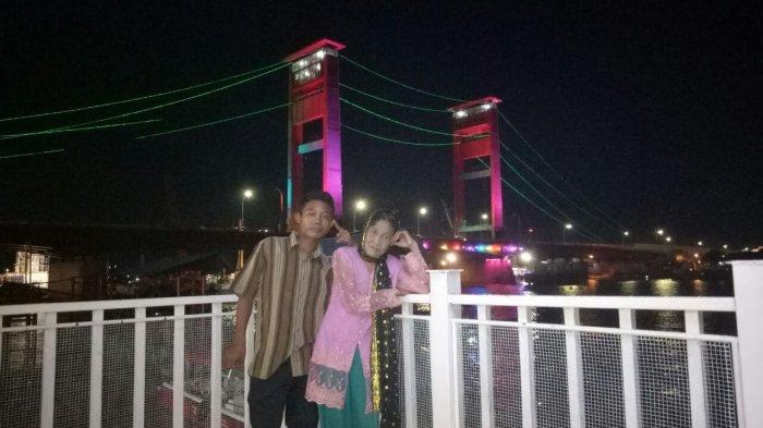Romantisnya Bulan Madu Ala Selamat dan Rohaya, dari Ranjang Hotel dan Diundang TV, Ini Fotonya