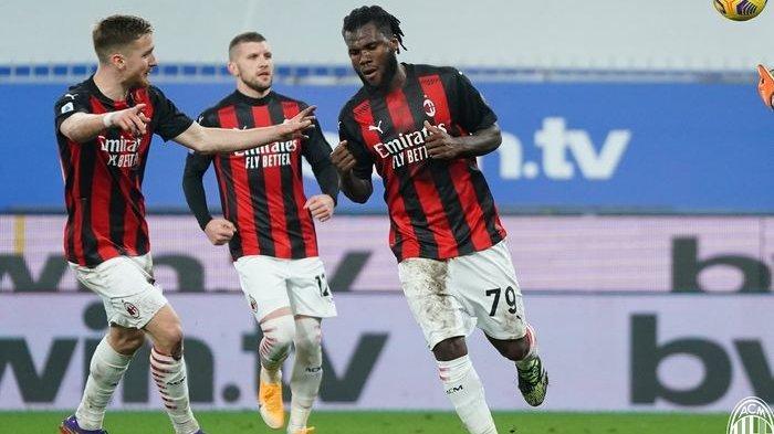 30 Laga Tak Pernah Absen Cetak Gol, AC Milan Bikin Sampdoria Menyerah 1-2, Rossoneri Kokoh di Puncak