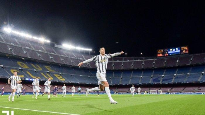 Hasil Liga Italia Juventus Vs Udinese, Cristiano Ronaldo Memang Gila, Sudah Tembus 20 Gol