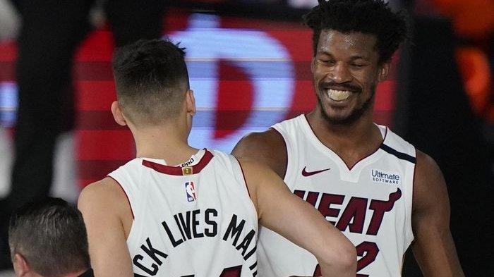 Hasil Final NBA 2020, Jimmy Butler Lagi-lagi Gemilang, Heat Pangkas Selisih Kedudukan dengan Lakers