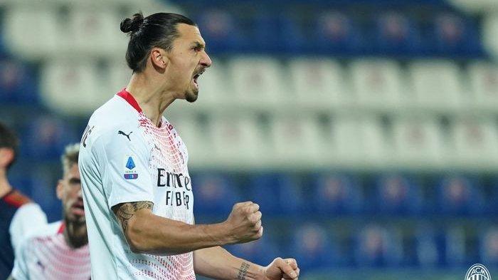 Eks Bomber Juventus Gabung AC Milan, Zlatan Ibrahimovic Sesumbar Bikin Duet Menakutkan Serie-A