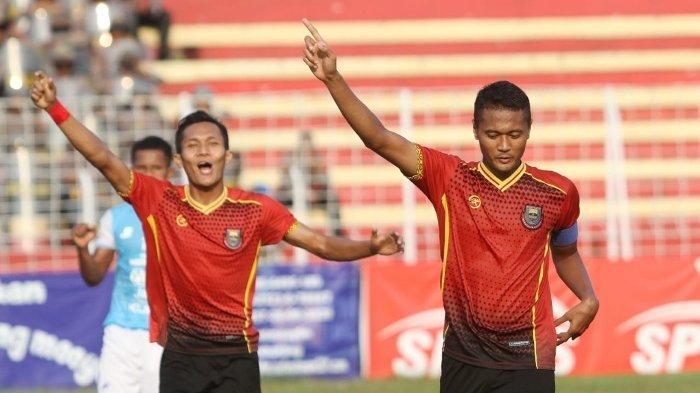 Paruh Babak Persibat Unggul 1-0 Atas Babel United FC