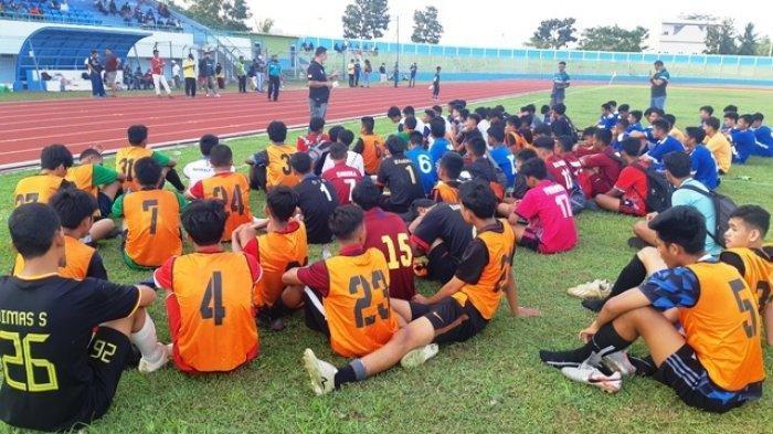 38 Pesepak Bola Muda Bangka Belitung Lolos Ikut Seleksi Timnas U-16 dan Timnas U-19 Indonesia