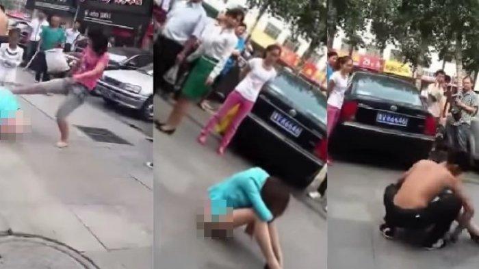 Pria ini Lakukan Hal Mengejutkan Saat Selingkuhannya Diserang Oleh Istri dan Anaknya