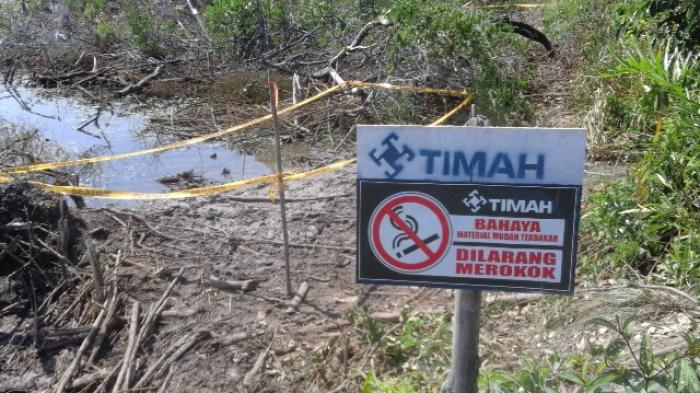 Ini Penyebab Timbulnya Api di Lokasi Semburan Api Mengkubung
