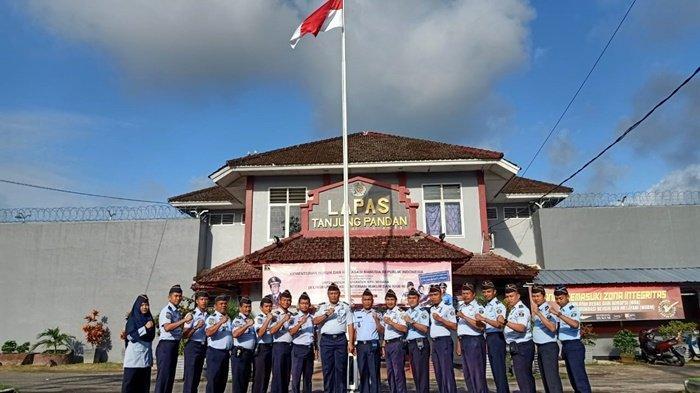 Pindah Tugas, Kalapas Mohon Maaf Pada Jajaran Lapas Kelas IIB Tanjungpandan