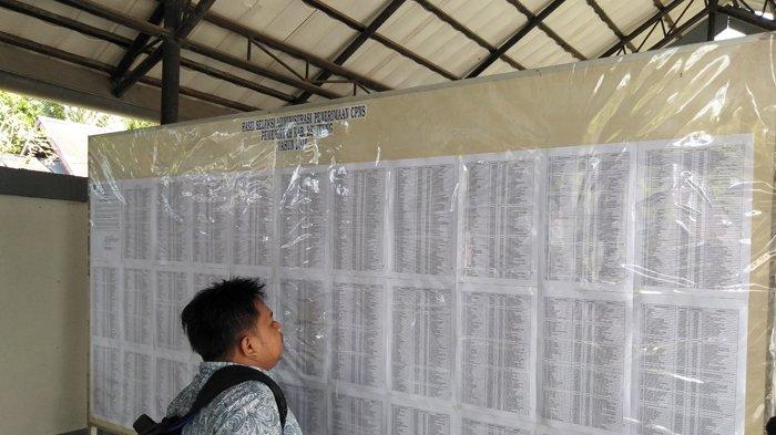2.378 Pelamar CPNS di Belitung Lulus Seleksi Administrasi