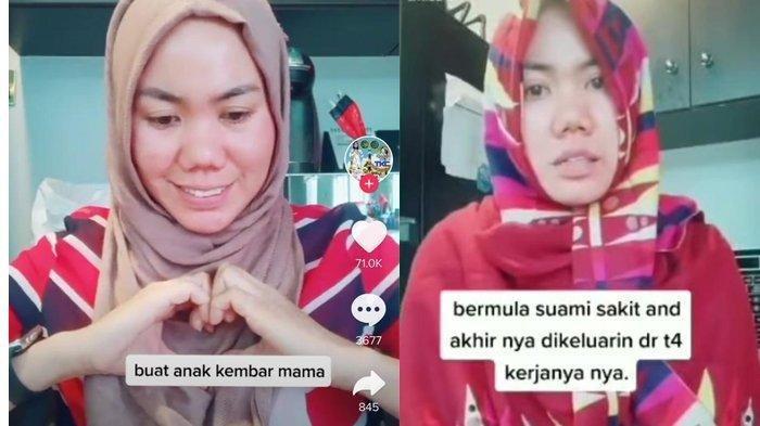 Viral Video Wanita Curhat di Tiktok, Jadi TKW Tapi Dapat Kabar Suami Punya Wanita Lain