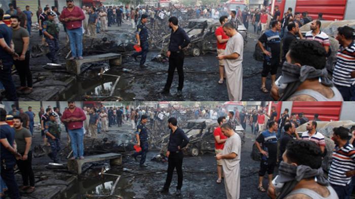 Serangan Bom Mengerikan di Baghdad, Dua Ledakan 83 Orang Tewas