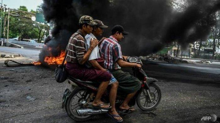 Militer Myanmar Lepaskan Tembakan, 80 Demonstran Dilaporkan Tewas