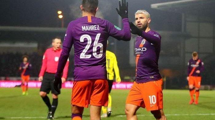 Sempat Tertinggal Dua Gol, Manchester City Lolos ke Semifinal Piala FA