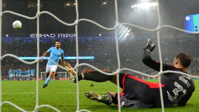 Video Serunya Penalti Manchester City Kontra Pemuncak Divisi Championship