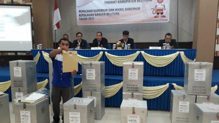 374 Pemilih di Belitung Gunakan e-KTP