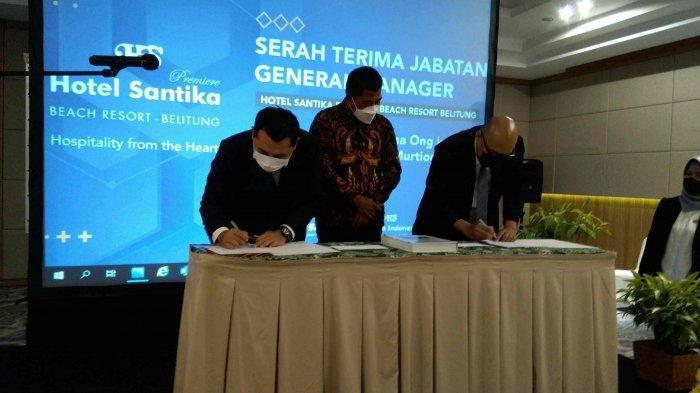Cahyanto Gantikan Agus Suyatna, GM Hotel Santika Premiere Beach and Resort Belitung
