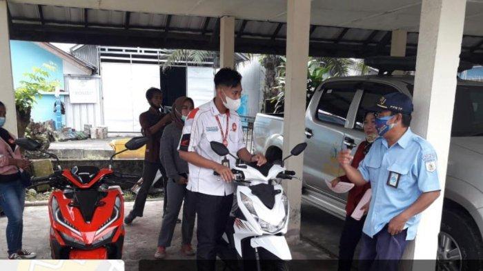 PT Tunas Dwipa Matra Gelar Service Ekonomis dan Pembagian Masker Pelabuhan Perikanan Tanjungpandan