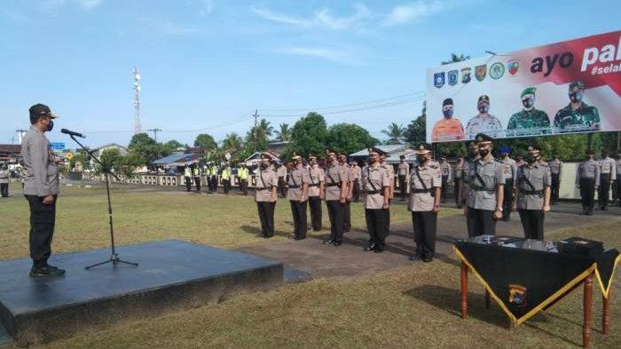 Delapan Pejabat Perwira Polres Belitung Dimutasi, Ini Pesan Kapolres