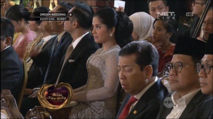 Hadiri Nikahan Kahiyang, Setnov Malah Tertidur, Netizen: Kawinan Aja Ngantuk, Apalagi Rapat Dewan