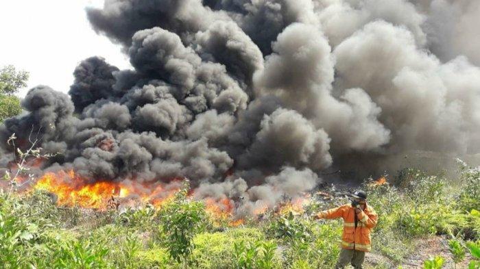 BPBD Belitung Timur Mencatat 14 Kebakaran Terjadi pada Januari hingga Februari 2021