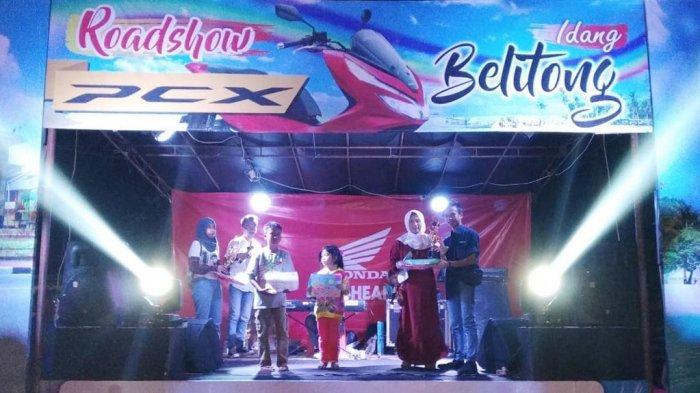 PT. ASP Gelar Roadshow Idang Belitong PCX ke Desa Gantong