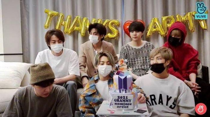BTS Gagal Bawa Pulang Piala Grammy Awards 2021, Ucapkan Aku Cinta Kalian ARMY!