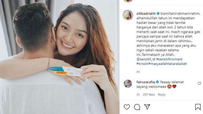 BIODATA Siti Badriah, Dua Tahun Menikah Kini Kabarkan Kehamilan Anak Pertamanya