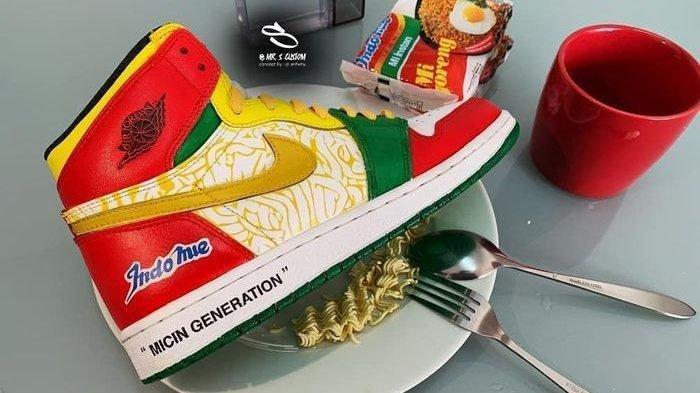 Dibanderol Rp 3,3 Juta, Air Jordan Custom Indomie Ludes Terjual, Pembelinya Banyak dari Luar Negeri