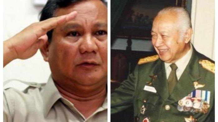 Saat Akan Berangkat Perang, Soeharto Titip Tiga 'Jimat' Ini ke Prabowo, Begini Kisahnya!