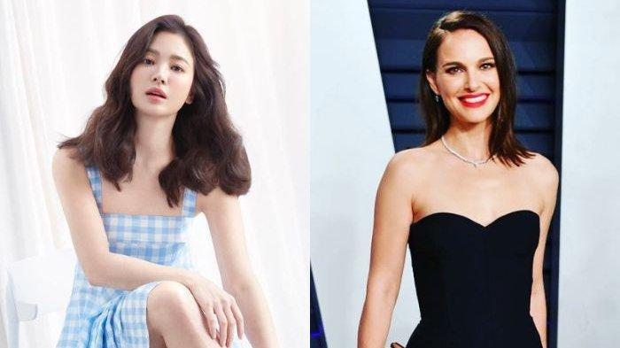 Hadiri Pameran Perhiasan, Song Hye Kyo Tampil Menawan, Foto Bareng Natalie Portman