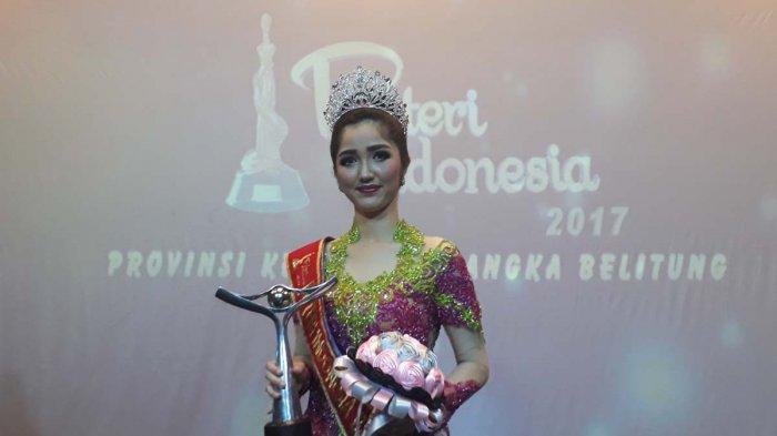 Terpilih Jadi Putri Indonesia Bangka Belitung 2017, Ini Kata Sonia Fergina Citra