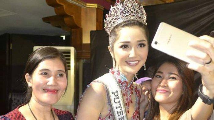 Penonton Sampai Histeris Lihat Sonia Fergina Citra Bersanding dengan Mister Indonesia 2018