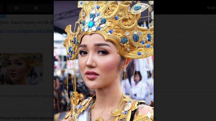 Ini Kabar Terbaru Puteri Indonesia 2018 Sonia Fergina di Pengungsian Gempa