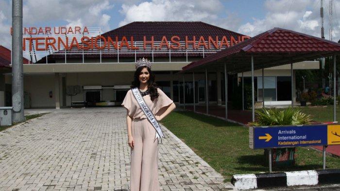 Foto-foto Penyambutan Kepulangan Putri Indonesia 2018 Sonia di Negeri Laskar Pelangi