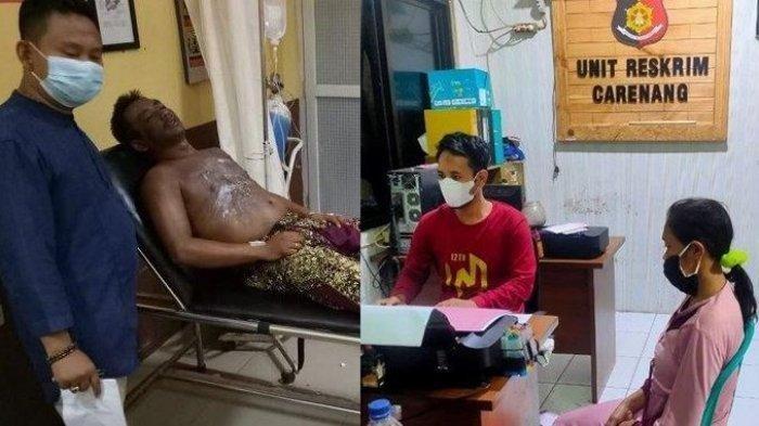 Pulang Cuma Bawa Uang Rp 30 Ribu, Sopir Angkot Disiram Air Panas oleh Istri