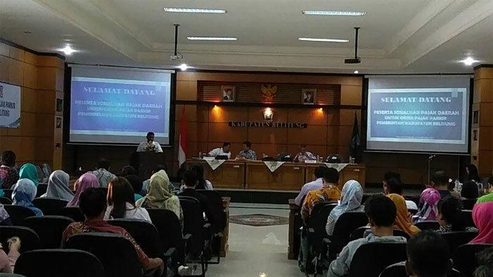 Bupati Belitung : Lahan Parkir yang Bersumber Pajak Pendapatan Akan di Inventarisir