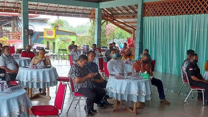 KPU Belitung Timur Sosialisasikan Pemeriksaan Kesehatan pada Parpol dan Bacalon Pilkada 2020